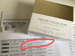Estee Lauder Tuberose Gardenia 1oz / 30 ml  EDP Spray Authentic New Sealed Box