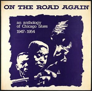 ON THE ROAD AGAIN (VARIOUS) - An Anthology Of Chicago Blues 1947-1954 - LP