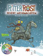 Ritter Rost feiert Weihnachten Taschenbuch mit CD + BONUS