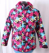 The North Face Hyvent Heatseeker Floral Puffer Jacket Coat Girl's XL Women's S