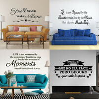 Inspirational Quotes Vinyl Wall Decals Hobby Lobby Art Sticker Word Decorations