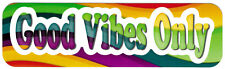 Good Vibes Only - Small Bumper Sticker / Decal