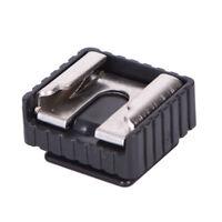 Camera Metal Flash Hot Shoe Mount Adapter for Canon Studio Light Stand Tripod*dm