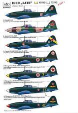 Hungarian Aero Decals 1/48 ILYUSHIN IL-10 LATE VERSION Soviet WWII Bomber Part 2
