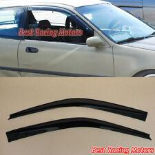 JDM Style Side Window Visors Fits 92-95 Honda Civic 2/3dr
