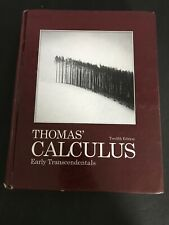 Thomas' Calculus Early Transcendentals 12th Ed 9780321588760 Used