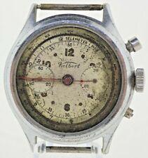 Vintage Kelbert Chronograph Manual Wind Men's Wristwatch Landeron 48 for Repair