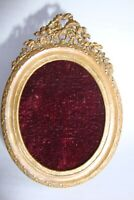 PICTURE FRAME small  ANTIQUE BRONZE does not have glass SHIPPING WORLDWIDE N1