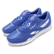 Reebok CL Nylon Color Crushed Cobal Blue White Men Running Classic Shoes CN7447
