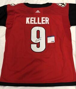 Clayton Keller Signed Autographed Arizona Coyotes Jersey Psa/Dna
