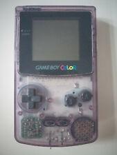 Nintendo Game Boy Color Handheld-Spielkonsole transparent