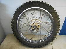 KAWASAKI 1971 - 1975 F6 F7 REAR WHEEL WITH GOOD CHENG SHIN 350-18 TIRE