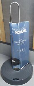 Heavy Duty Kohler In Step Paper Towel Holder, Prevent Unraveling, DAMAGED BASE