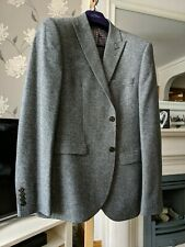 Next Men's Grey Suit, Jacket 40R Slim Fit, Trousers 34R