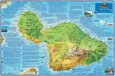 Maui Hawaii Adventure Guide Laminated Map by Franko Maps