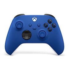 Xbox 无线控制器 Shock 蓝色-无线 和蓝牙连接-全新