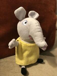 Emily Elephant Soft Plush Toy Peppa Pig Character Rare
