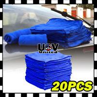20PCS Microfiber Cleaning Cloth Towel No-Scratch Rag Car Polishing Detailing UU