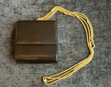New listing Mint! Vintage Rodo Italy brown reptile embossed crossbody purse
