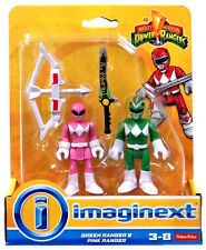 Imaginext Mighty Morphin Power Rangers - Green Ranger and Pink Ranger *NEW*