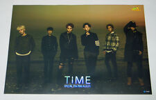 BEAST B2ST - Time (7th Mini Album) OFFICIAL POSTER with Tube Case