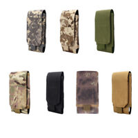 Universal Army Tactical Bag Mobile Phone Belt Flip Hook Cover Case Pouch Holster