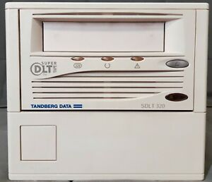Tandberg SDLT320 External Drive Kit Bandlaufwerk DLT TR-S23BA-TM
