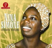 NINA SIMONE - 60 ESSENTIAL RECORDINGS  3 CD NEUF