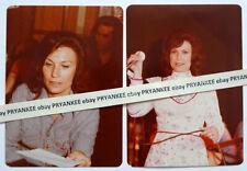 2 Vintage LORETTA LYNN Original UNPUBLISHED? 1970's CONCERT Photo COUNTRY MUSIC