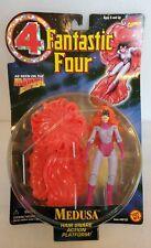 "New 1996 Fantastic Four ""Medusa"" Hair Snare Action Figure Marvel Comics TOYBIZ!"