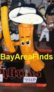 San Jose Giants Churro Bobblehead SGA 7-24 2021 man mascot Bobble Francisco SF