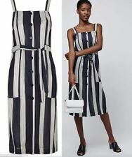 Topshop Striped Regular Size Dresses for Women