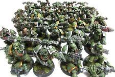 OOP Citadel / Warhammer 40k Metal Nurgle Chaos Death Guard / Plague Marines Army