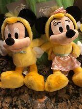 Disney World Mickey & Minnie EASTER  plush  NEW. 2018