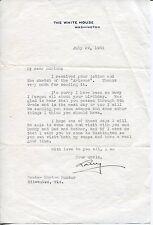 Lawrence Richey Secretary President Herbert Hoover Signed Autograph TSL Letter