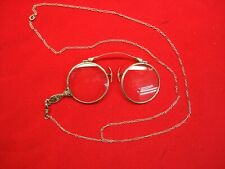 Vintage White Gold Filled Eye / Opera Glasses - Quite Nice & Rather Fancy Too