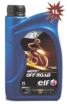 Elf Moto 2T OFF ROAD Synthetic Based 2 Stroke Motorcycle Oil - 1 Litre
