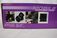 NIB FunTV Mobile Entertainment System LCD TV/DVD Set Model#RF-TD056