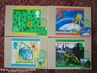 PHQ Card set FDI Front No 146 The Green Issue, 1992. 4 card set.  Mint Condition