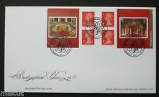 PM42 2014 BUCKINGHAM Palace Booklet FIRST DAY COVER FDC Special Handstamp (3)