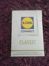 ungeöffnete Sim Karte von Lidl Connect,Classic Tarif,inc.10 € Starguthaben ,