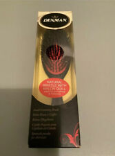 Denman Grooming Hair Brush D81S Small Nylon Bristle Cushion Hair & Beauty New