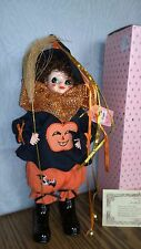 Brinn Porcelain Calendar Doll October Halloween Clown