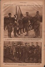 9th US Infantry, 2nd Division Honors @ Newweid, GR+Kilbourne*,Lejeune*,Pershing*