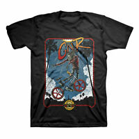 Adult Men's Official Guns N' Roses Rad BMX Old School Band Tee Shirt Black S-2X