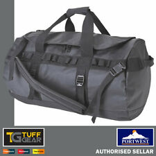Portwest 70L All Weather Kit Bag Hold All Duffle Bag Luggage Waterproof Black