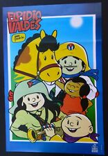 ELPIDIO VALDES Poster for CUBAN Cartoon Movie by Famed Cuba Director JUAN PADRON