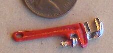 1:12 scala metallo stilsons Chiave a pappagallo Chiave Attrezzi da Giardino Casa delle Bambole Accessorio