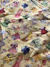 "Vintage Timeless Treasures for Hi - Fashion Fabrics, Scrap 40"" x 17"" Pre washed"