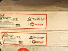 """60/lbs Triple 7 HOBART TRI-MARK Flux-Core Carbon Steel 1/16""""Welding Wire16""""Spool"""